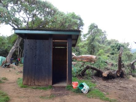 Toilet at Mti Mkubwa