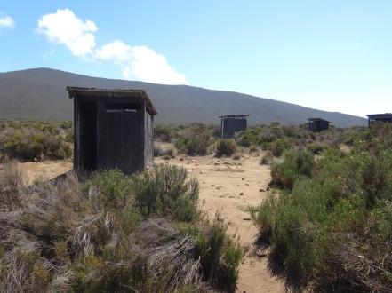 Toilet at Shira One