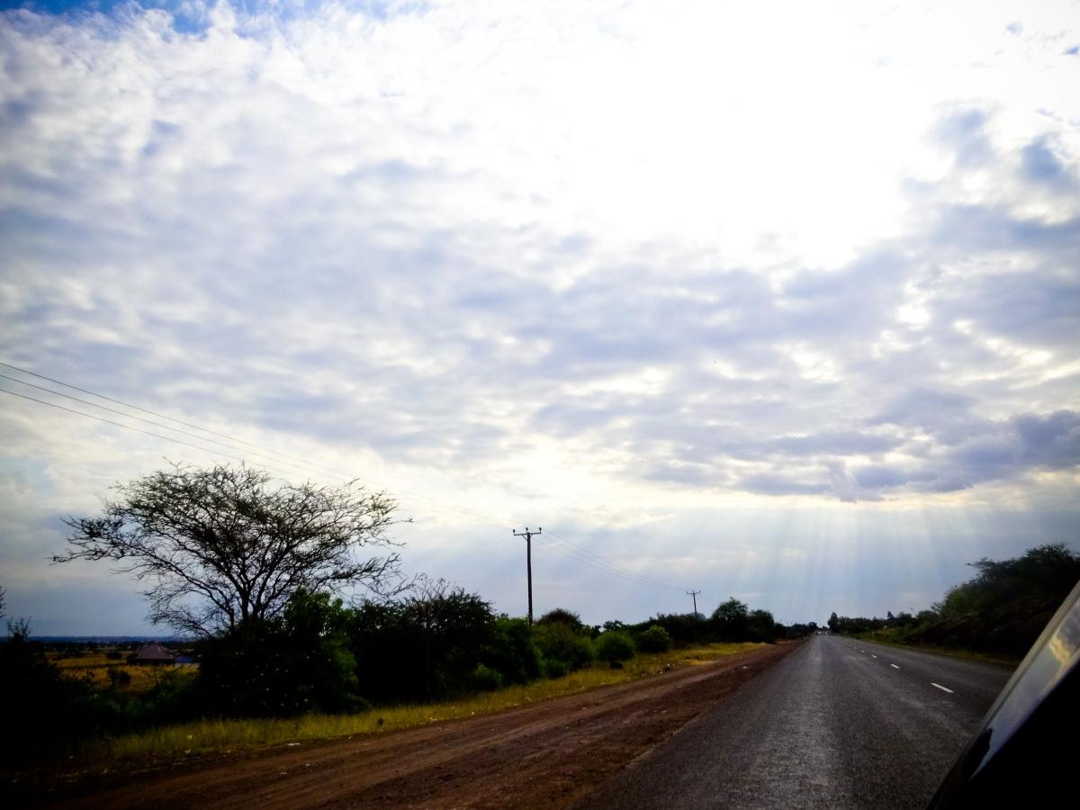Rays at Marangu
