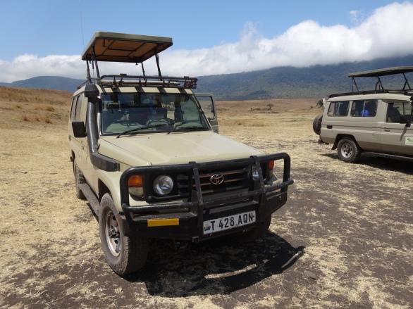 Safari Fliptop Landrover