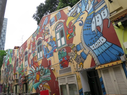 Street Art in Singapore Kampong Glam 051